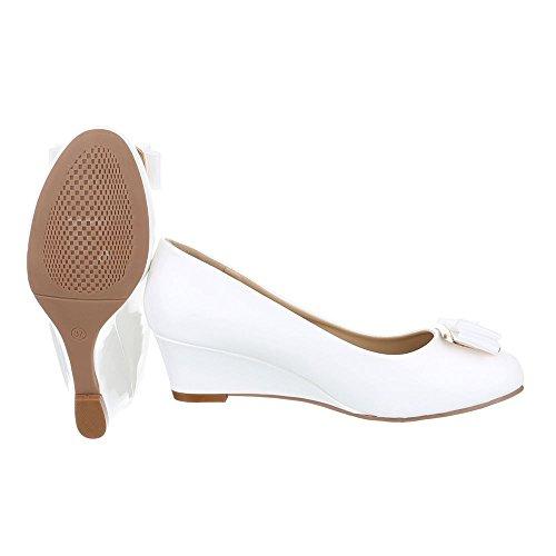 Ital-Design - Plataforma Mujer Weiß