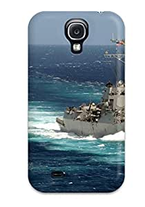 New Premium ANfQPBr2889oXveS Case Cover For Galaxy S4/ War Ship Protective Case Cover