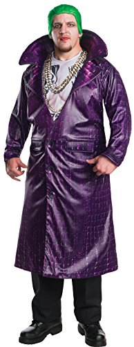 Rubie's Men's Suicide Squad Plus Deluxe Joker Costume, Multi, One Size