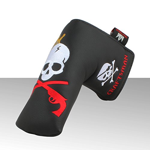 Free Craftsman Golf King Skull Headcover Putter Cover For Scotty Cameron Taylormade Odyssey Blade