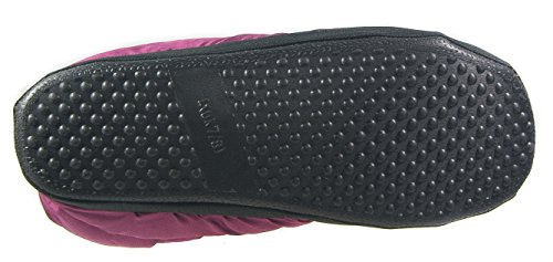 Cotswold Womens Ladies Camping Slippers/Purple Lined Quilted Slip On Boot MKx0cwUgW8