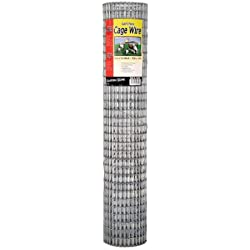 "Garden Zone 403010 1/2"" x 1"" Mesh 16-Gauge Galvanized Wire Fence, 30"" x 10'"