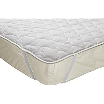 Amazon.com: Fabugears Quilted C& Mattress Cover Pad,Cot Size 30 ... : quilted mattress covers - Adamdwight.com
