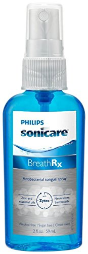 Philips Sonicare Breathrx Philips Sonicare BreathRx Daily Tongue Care Kit-  DIS359/03 (2oz bottle+2 Tongue Cleaners) by Philips (Image #3)