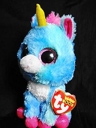 e44e7e332f2 Ty Stitches The Blue Pink Unicorn 6 quot  Michael s Craft Store Exclusive Beanie  Boo-