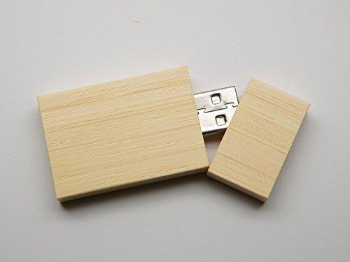 Bulk Pack USB 2.0 Wooden Bamboo Stick Design 8 GB Flash Drive 10 8GB Flash Drive