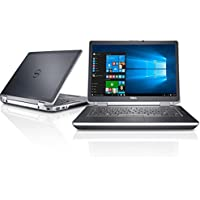 Dell Latitude E6420 Premium 14 HD Anti-glare LED Backlit Business Laptop Computer, Intel Dual Core i7-2620M up to 3.4GHz, 8GB DDR3, 128GB SSD, DVD, HDMI, Windows 10 Pro (Certified Refurbished)