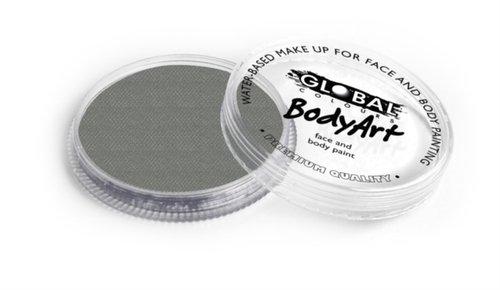 Global Body Art Face Paint - Standard Metallic Silver 32gr