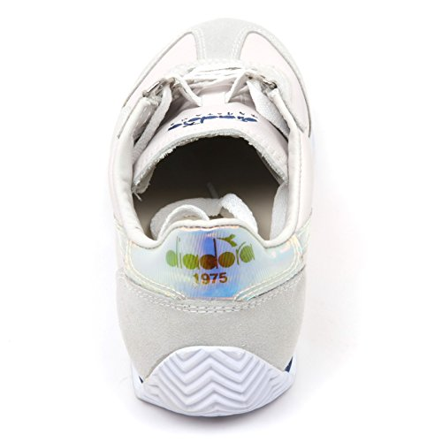Sneaker C9036 Heritage Diadora Equipe Woman Shoe ghiaccio Bianco Donna Hologram d5aqdxwg