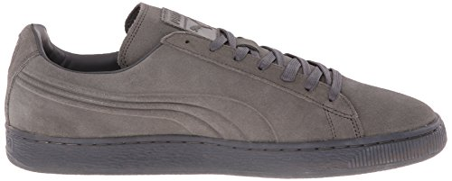 PUMA Men's Suede Emboss Iced Fashion Sneakers, Dark Shadow, 9 D US Photo #4