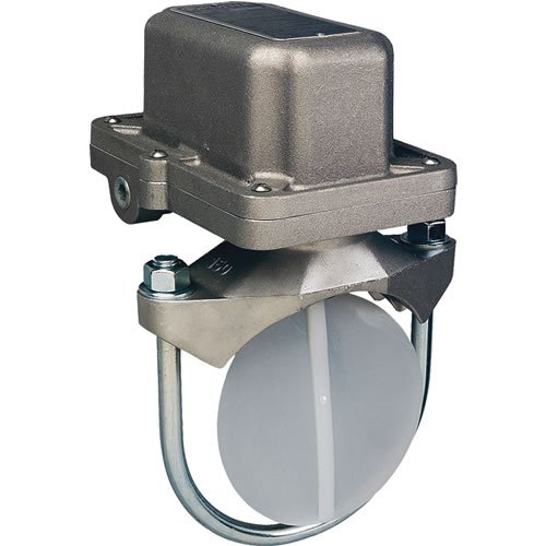 Potter VSR-FE2-8, Vane-Type Waterflow Switch for 8-inch Steel Pipe, with Retard, DPDT Contact(s)