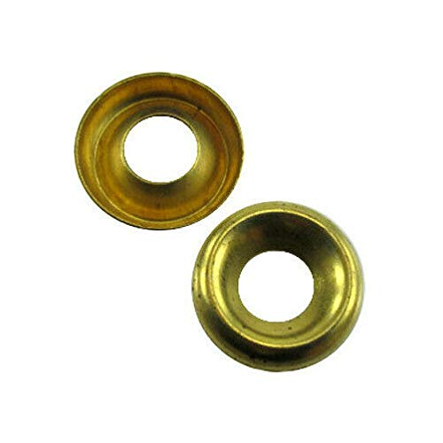 # 6 Brass Countersunk Finishing Washers (Box of 100)