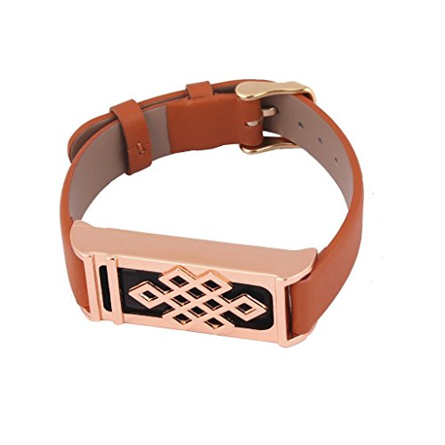 Bossblue Leather Replacement Bracelet Trackers