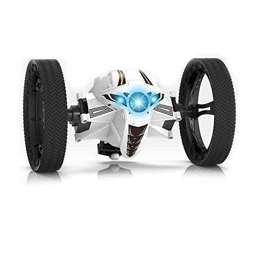 Jumping Car Toypark 2 4Ghz Wireless Remote Control Stunt Car With Led Headlights Double Sided Tumbling And Extreme High Speed Rotating