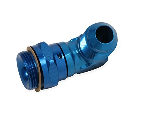 Earls 949096ERL Blue Anodized Special Purpose Aluminum Adapter