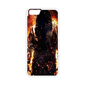 iPhone 6 Plus 5.5 Inch Phone Case Undead Sword Books Fire Lightning N8U7869195