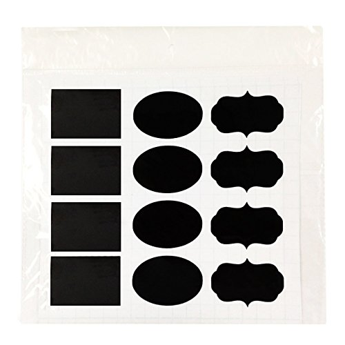 Wrapables Chalkboard Stickers Organizing Rectangle