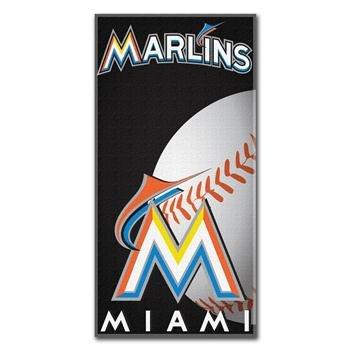 MLB Miami Marlins Emblem Beach Towel