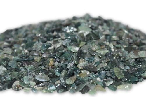 Nature's Enlightenment 50g Moss Agate Crystal Chips- Reiki. Energy Healing. Pagan. Wicca, Protection, Crystal Grid, Meditation, Yoga (Yellow Moss Agate)