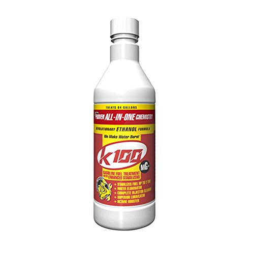 Orange Cycle Parts 32 oz Gasoline Fuel Treatment with Enhanced Stabilizers by K-100 MG 403 by K-100 (Image #2)'