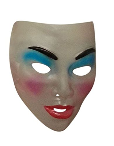 Faerynicethings Adult Size Transparent Masks - Asian Woman]()