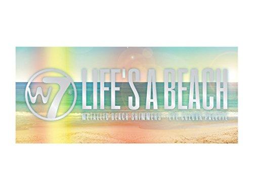 W7 Lifes a Beach Metallic Beach Shimmers 12 Colour Eye Shado