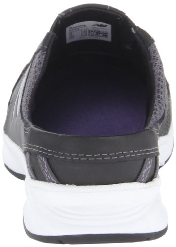 888098229813 - New Balance Women's WW520 Walking Shoe,Black/Purple,8 2A US carousel main 1