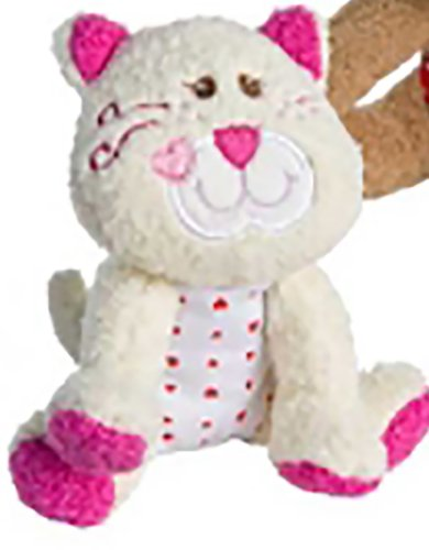 Game / Play Mary Meyer Baby Cheery Cheeks Soft Toy, 100% Polyester, Embroidered face, Sweety Pie Kitty Toy / Child / Kid