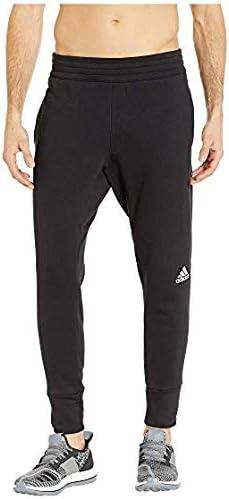 [adidas(アディダス)] メンズウェア・ジャケット等 Sport Pants Black/White/White US LG (L) R [並行輸入品]
