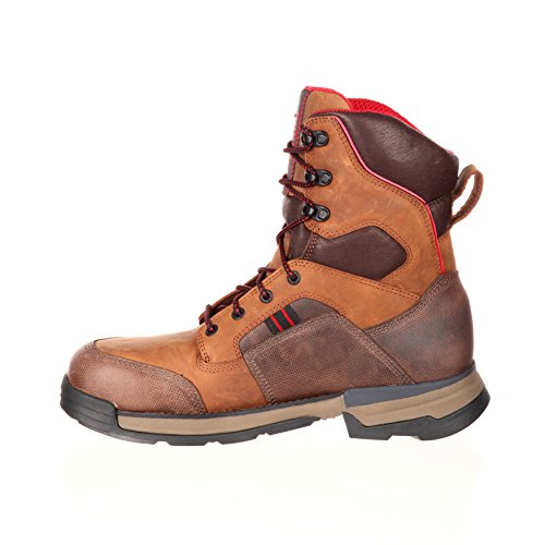 Rocky Mens 8 Mobilwelt Composite Teen Waterproof Workboot-rkk0199