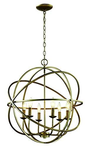 Pendant Apollo Lighting (Trans Globe Lighting 70656 ASL Indoor Apollo 24