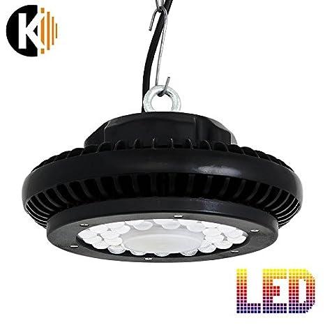 highbay UFO LED Sala de pie UFO de 100, 100 W como 11000lm ...