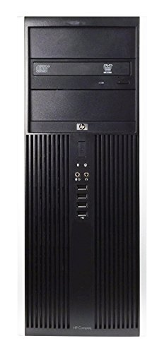 HP 8100 Business High Performance Tower Desktop Computer PC (Intel Core i5 650 3.2G,4G DDR3,250G,DVD,Windows 10 Professional) - Black/Silver - 16VFHPDT0514 by HP