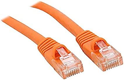 50ft CAT6 Snagless Patch Cable Orange