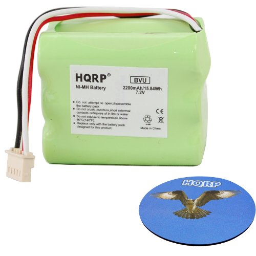 HQRP 2200mAh Extended Battery for Mint+ 5200