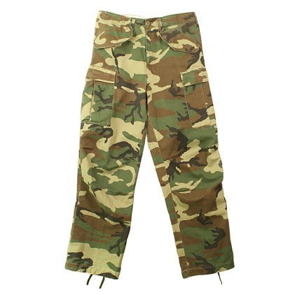 2605 M-65 Field Pants- Vintage Woodland Camo (Medium)
