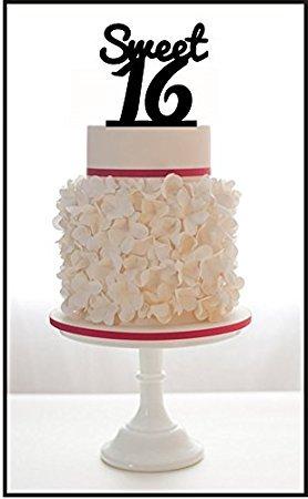Personalisierte Geburtstag Kuchen Topper Sweet 16 Geburtstag