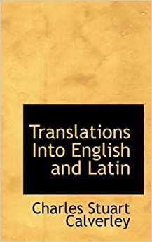 Book Translations Into English and Latin
