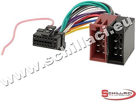Câble adaptateur faisceau ISO 16 pin pour autoradio