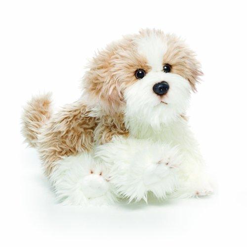 g Small Maltipoo Dog Children's Plush Stuffed Animal Toy ()