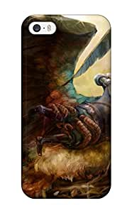 LeeJUngHyun Scratch-free Phone Case For Iphone 5/5s- Retail Packaging - Dragons-crown Anime Action Rpg Fantasy Family Medieval Fighting Dragons Crown