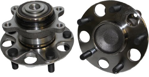 Brand New (Both) Rear Wheel Hub and Bearing Assembly for 2006-2011 Honda Civic LX or DX Only - 5 Bolt w/ABS (Pair) 512257 x2