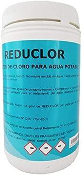 REDUCLOR: Reductor de Cloro para la desinfección del Agua de ...