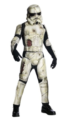 Stormtrooper Zombie (Star Wars Death Trooper Deluxe Adult Set, Green, Standard)