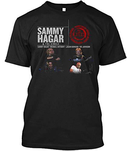 (LuckyTee Sammy Hagar & The Circle PIPA 19 Tee|T-Shirt Black)