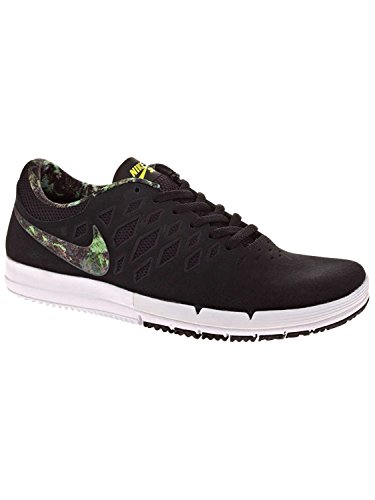 Nike Mens Free SB Skate Shoe, Black/Gorge Green, 40.5 D(M) EU/6.5 D(M) UK