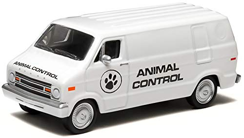 1976 Dodge B100 Animal Control Van Hobby Exclusive 2014 Greenlight Collectibles Limited Edition 1:64 Scale Die-Cast ()