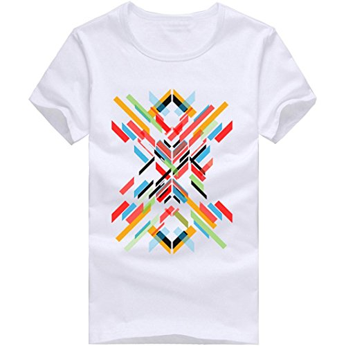 aa6dc18c Zulmaliu Men Tee Shirt, Fractal T Polo Shirts Short Sleeve Tops Modal  Blouse Cool T