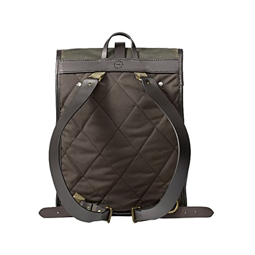 Filson Unisex Tin Cloth Backpack Otter Green 1 Backpack by Filson (Image #1)