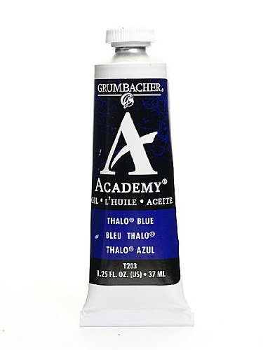 Prismacolor Academy Oil Colors thalo blue 1.25 (Academy Oil Color Paint)